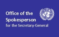 Spokesperson for the Secretary-General statement on UN Mission to Investigate Allegations of the Use of Chemical Weapons in the Syrian Arab Republic