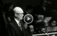Sixty years ago, Pres. Eisenhower delivers his Atoms for Peace speech at the UN General Assembly