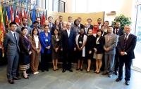 2013 UN Disarmament Fellows meeting Mr. Uzumcu, Director-General of OPCW