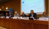 Side event organized by the European Union at the Preparatory Committee for the Eighth BWC Review Conference