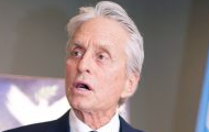 UN Messenger of Peace Michael Douglas speaking